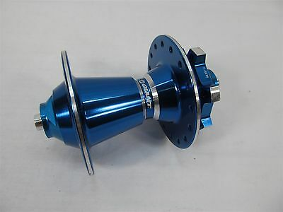 GIANT BICYCLES FRONT HUB DISC BRAKE 5mm AXLE 32 HOLE 100mm WIDTH BLUE