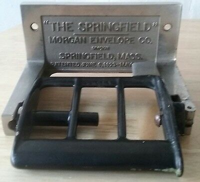 Cast Iron Toilet Tissue Paper Holder Springfield Morgan Envelope Co