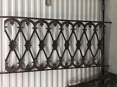 Antique Iron Railing from New Orleans