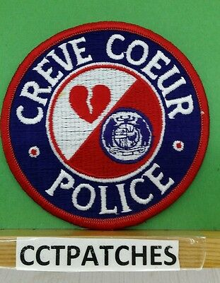 Creve Coeur, Missouri Police Shoulder Patch Mo