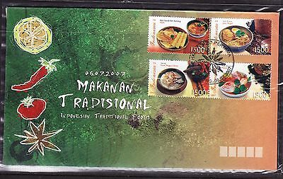 Indonesia 2007 - Traditional Foods First Day Cover