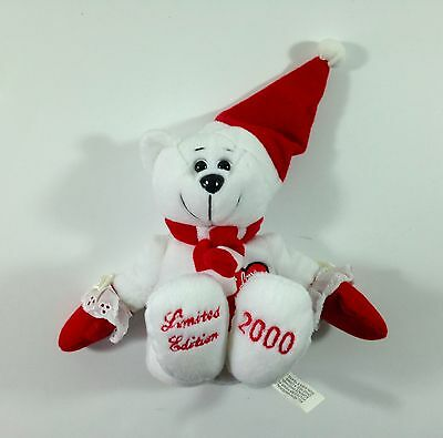 """I Love Lucy Bear Limited Edition 2000 Collecticritters Plush bean bag 10"""" Bear"""
