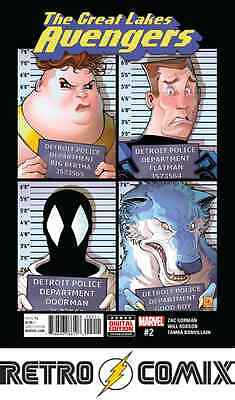 Marvel Now Great Lakes Avengers #2 First Print New/unread Bagged & Boarded