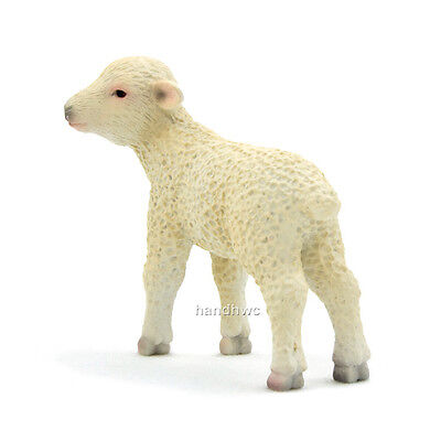 Mojo Fun 387098 Lamb Standing - Realistic Farm Animal Toy Replica - NIP