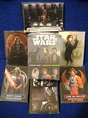 2016 Topps Star Wars Rogue One Mission Briefing Mini Master Set & Wrappers