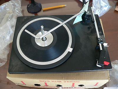 vintage Garrard Model CC10-A Record Changer turn table-new never installed