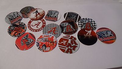 Pre Cut One Inch Bottle Cap Images College Teams  Free Ship