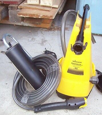 Wagner 53 Roll Fast Plus Smart Side Kick Power Roller - NEW with Owner's Manual