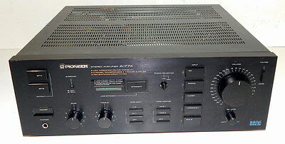 Pioneer A-77X vintage integrated amplifier dual mono design recently serviced
