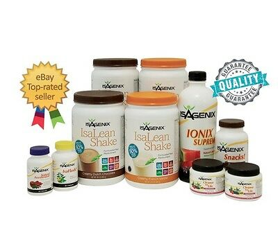 *FREE POST* Isagenix 30 Day Weight Loss &Fat Burning, Nutritional Cleanse Pack