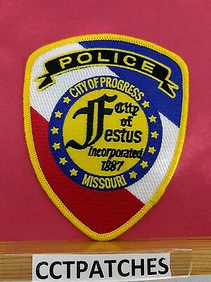 City Of Festus, Missouri Police Shoulder Patch Mo