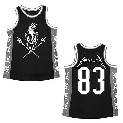 Metallica: Scary Guy Basketball Jersey  NEW