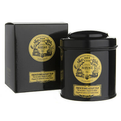 NEW Mariage Freres Loose Leaf French Breakfast Tea Canister