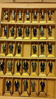 Vintage collection presidents figures
