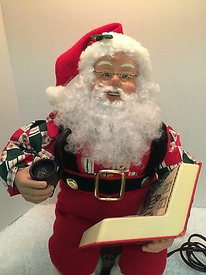 1994 Collector Edition Animated Storytelling Santa Holiday Creations Tape Player