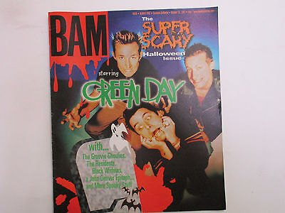 BAM magazine Oct. 24, 1997 Green Day Groovie Ghoulies