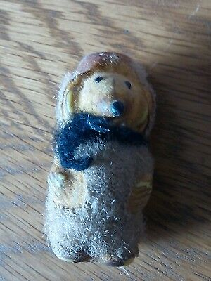 Vintage Womble Figure Collectible