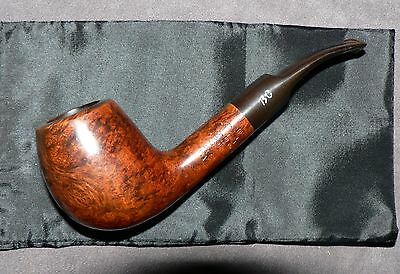 Butz Choquin' First Extra' 4421' Vintage French Briar Tobacco Pipe & Pouch. G.C