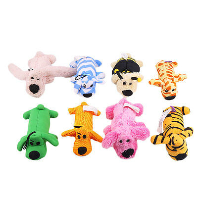 Pet Puppy Chew Squeaker Squeaky Plush Sound Pig Elephant Duck Ball For Dog Toy !
