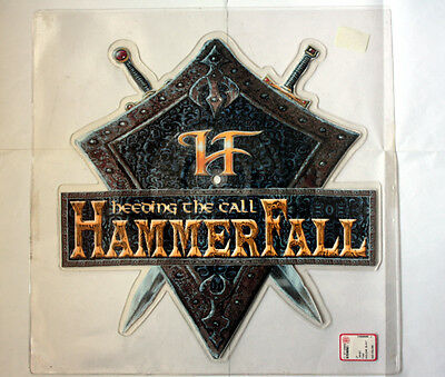 HAMMERFALL Heeding The Call LIMITED SHAPE PICTURE DISC