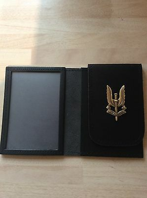 S.A.S Badged ID Card Wallet