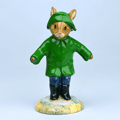 Royal Doulton Limited Edition Making Earth A Little Greener Rainy Day Bunnykins