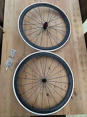 Planet X Carbon Clincher 700C 52mm Wheel set 10/11 speed Shimano Sram. New