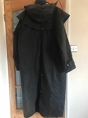 Driza-Bone Men's Full Length Wax Coat Size 2XL
