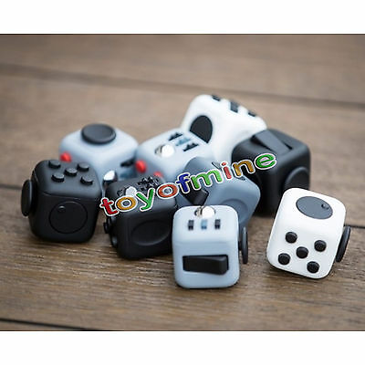 Fidget Cube 1Pcs 6 side Toy Stress Relief For Adults Children 7Colors Hot Gifts