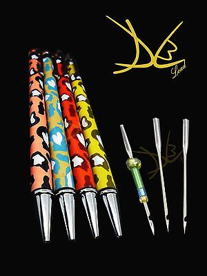 Tambour pen with  2 Needles size 0.3 mm for Embroidery sets with pen holder