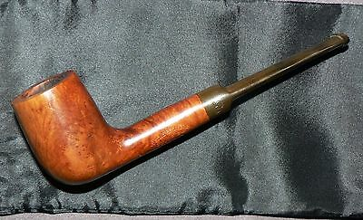 COURRIEU COGOLIN' Vielle Bruyere' Vintage French Tobacco Pipe & Pouch. Used. GC.