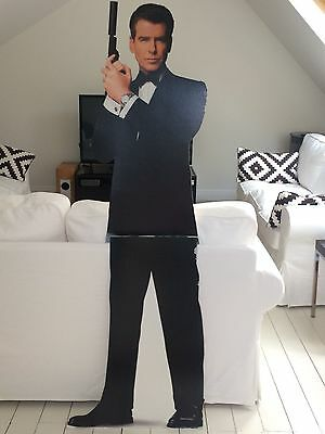 James Bond full size cardboard cut out