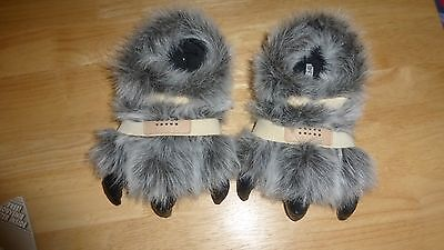 Kids Furry Claw Slippers from NEXT size 12 kids foot size, 6/7/8/9 year old