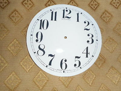 For American Clocks-Round Sessions Paper Clock Dial-123mm M/T-Arabic-Clock Parts