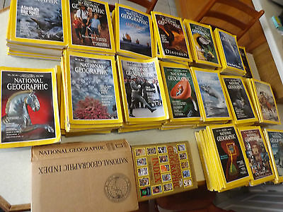 National Geographic Magazine Collection 186 In Total