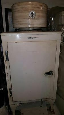 Early 1900's General Electric Refrigerator