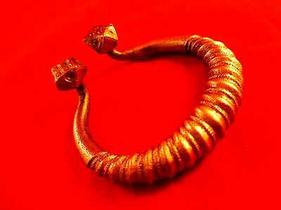 Viking Decorative Penannular Bronze Fibula