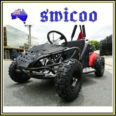 new 2017 model 80cc lifan engine mini go kart 4 wheeler kids 4 stroke mini buggy