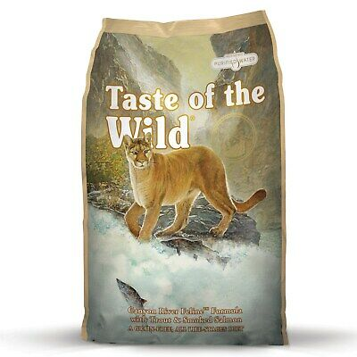 """Taste of the Wild """"Canyon River"""" Feline Dry Food with Trout & Salmon 7kg"""