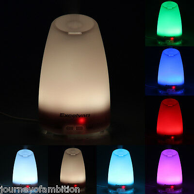 LED 120ml Aroma Ultrasonic Aromathérapie Essential Oil Diffuser Humidificateur