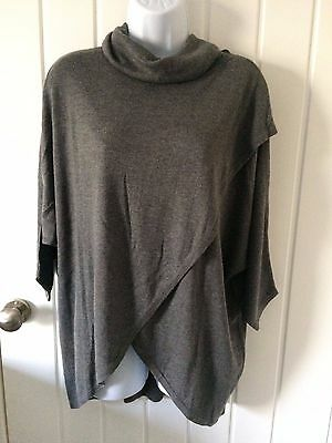 Seraphine Missy Maternity Nursing Jumper, Grey, Size Small, RRP £55