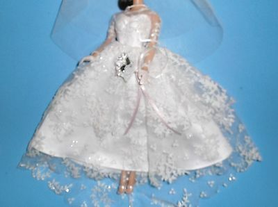 Vintage Reproduction*wedding Day*fantasy Froth*barbie*silkstone*fr*