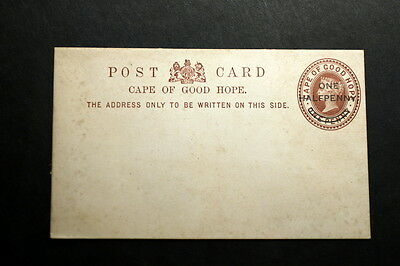 Cape of Good Hope stationery post card
