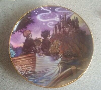 Harry potter royal doulton plate 2001