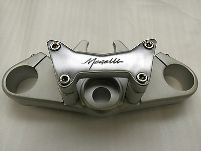 New Top Yoke Assembly With Handlebar Clamps / Risers Genuine Megelli Motard 125M