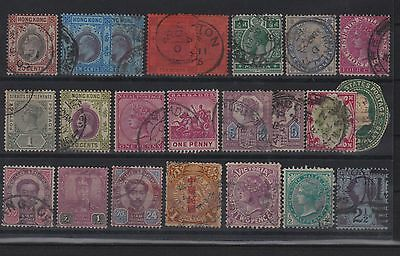 Lot timbres colonies anglaises