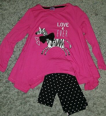 girls zebra outfit age 4-5