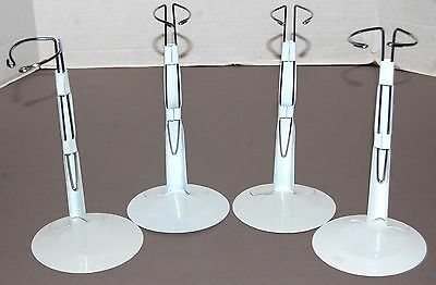 "KISS 12"" Doll Action Figure 4pc Stand Display Set Metal Base Gene Simmons Ace"