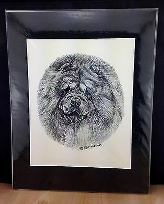 Vintage Earl Sherwin Fawn Great Dane Print - Matted for Framing