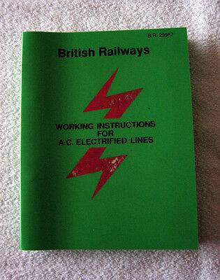 British Railways Working Instructions for Electrified Lines